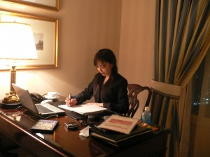 リッツカールトン大阪にておもてなしを学ぶ 20070126~28 035